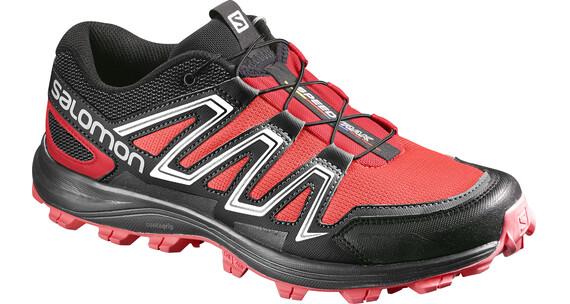 Salomon Speedtrak Hardloopschoenen Dames rood/zwart